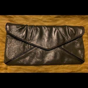 BCBGMAXAZRIA Patent leather envelope clutch